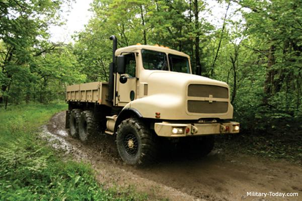 The oshkosh mtt military truck has a payload capacity of 5 t