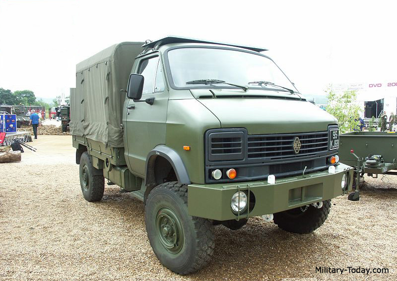 Reynolds Boughton RB 44 Light Utility Truck | Military ...