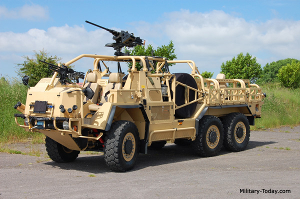 The Supacat Extenda has a 4x4 configuration, however it can be ...
