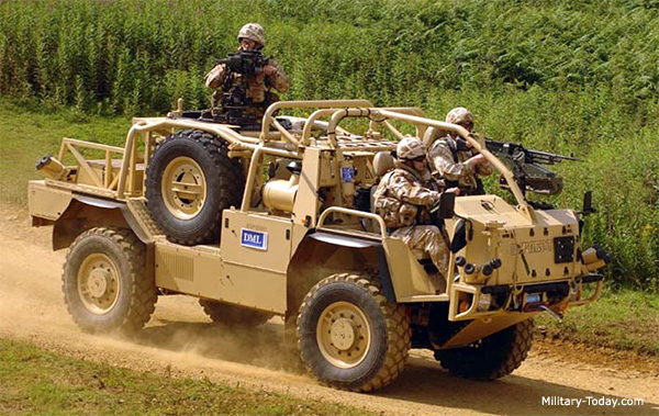 Supacat Jackal Patrol Vehicle Military Today Com