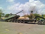 Taian TA4410 tank transporter