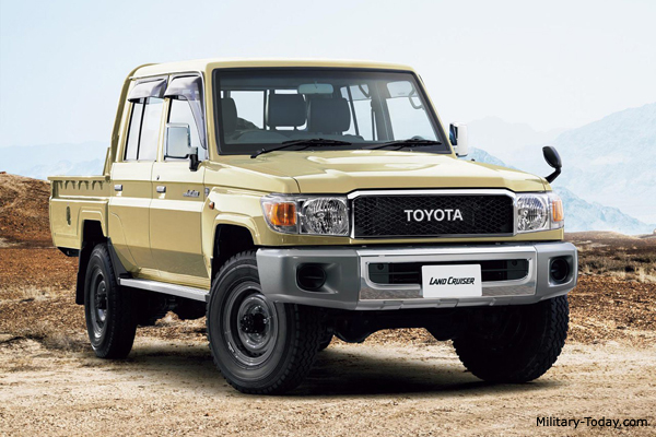 The Toyota Land Cruiser Is Widely Used By Armed Forces And Irregular Armies
