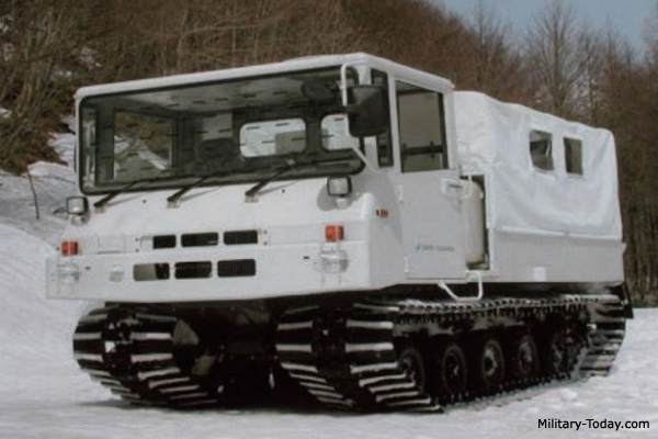Type 10 tracked carrier