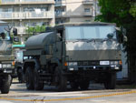 Type 73 Ougata military truck with armored cab