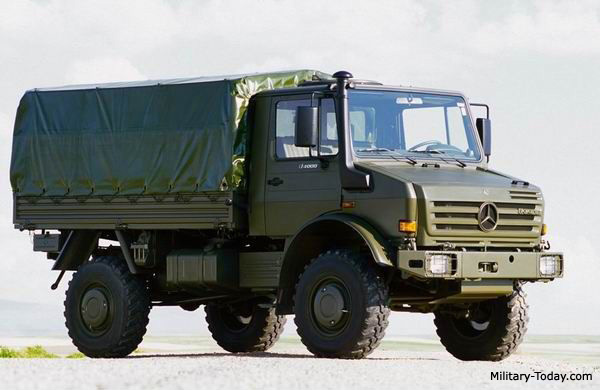 Mercedes-Benz UNIMOG, best military truck