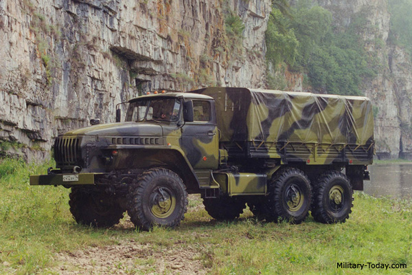 Ural-4320, top ten military trucks