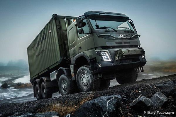 Volvo Fmx 8x8 Heavy Utility Truck Military Today Com
