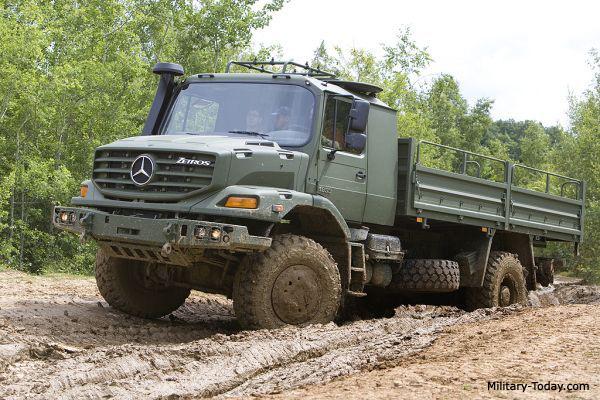 Mercedes Benz Zetros 1833 General Utility Truck Military Today Com