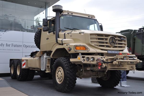 Mercedes Benz Zetros 3343 Tractor Truck Military Today Com