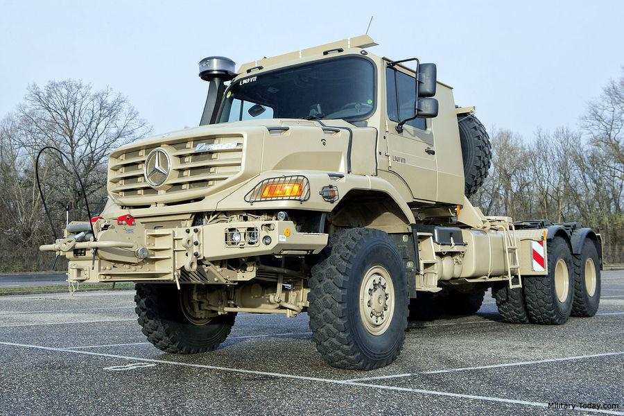 Mercedes Benz Trucks >> Mercedes-Benz Zetros 3343 Images