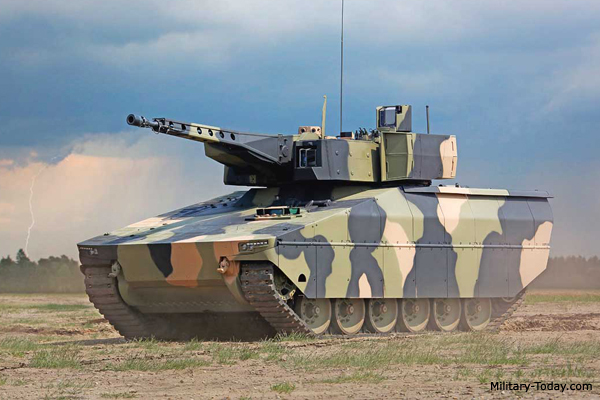 Best infantry fighting vehicle