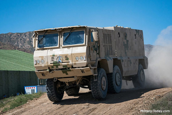 VP22 Mine Resistant Ambush Protected Vehicle | Military-Today.com