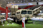 AR3 multiple launch rocket system, export version