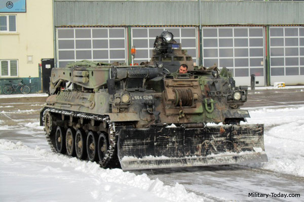 AMX-30D armored recovery vehicle
