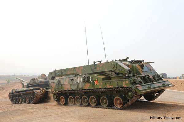 VME-102-40 armored recovery vehicle