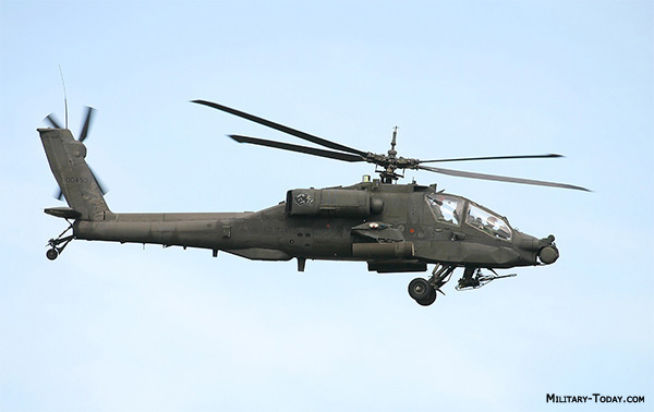 Boeing AH-64A Apache helicopter