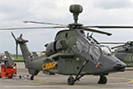 The Eurocopter Tiger helicopter