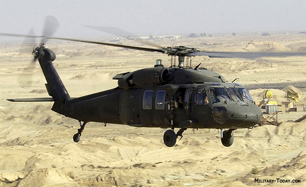 UH-60 Black Hawk helicopter