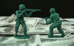 Military spending and global economy