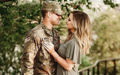 Why women like soldiers?