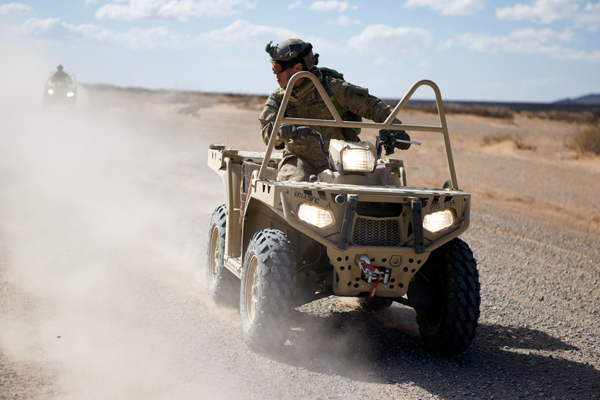 ATVs and the military