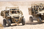 All-terrain vehicles in military