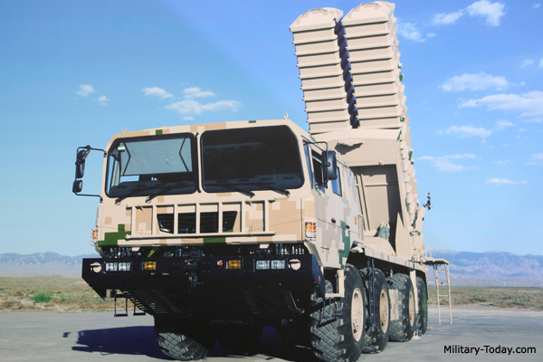 Chinese M20 ballistic missile