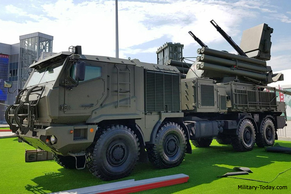 Pantsyr-SM air defense system