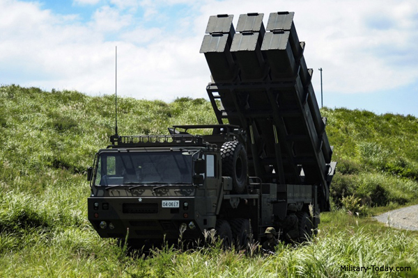 Type 12 coastal defense missile system