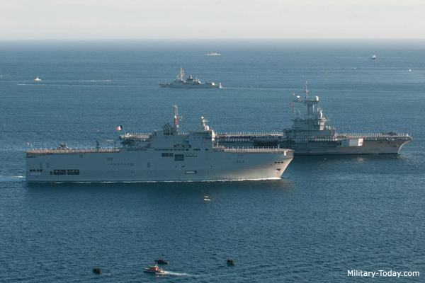 The top 10 most powerful navies