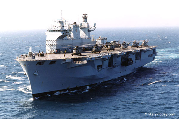 Strongest amphibious assault ship