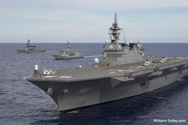 The largest navies in the world