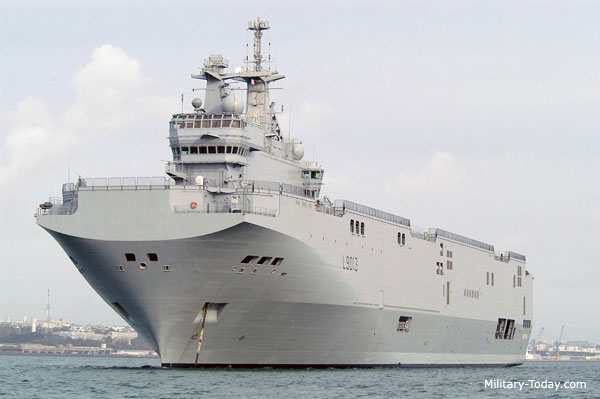 Greatest amphibious assault ships
