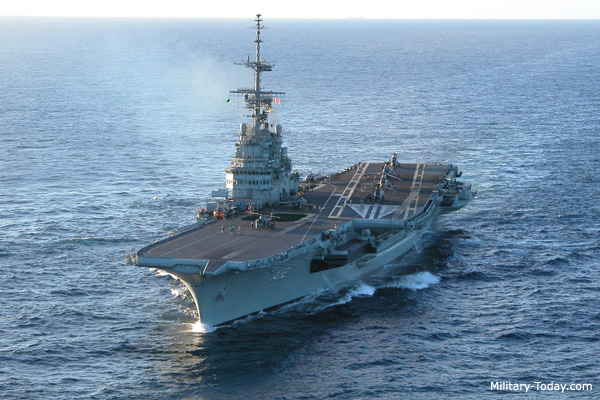 Largest aircraft carriers