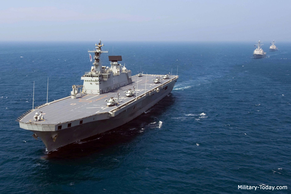 Top 10 countries with best navy forces in the world