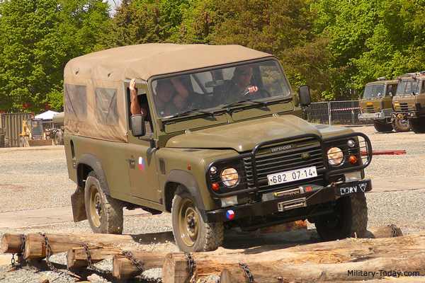 Which is the best light military vehicle?